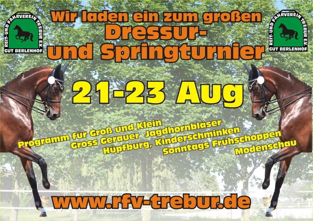 Poster Turnier 2015